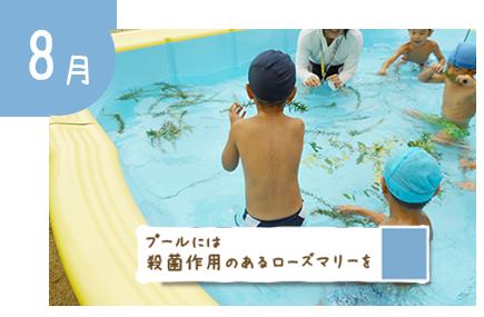 8月:夏季異年齢保育